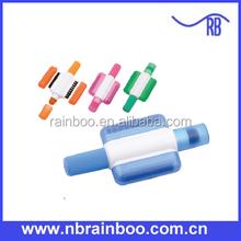 Venda quente novo modelo de duas cores highlighter com escova computador ABD127