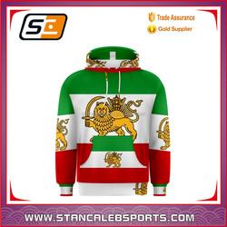 Stan caleb 100% fleece polyester comfortable hoodies