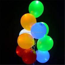 Factory wholesale wedding decoration LED light up balloon