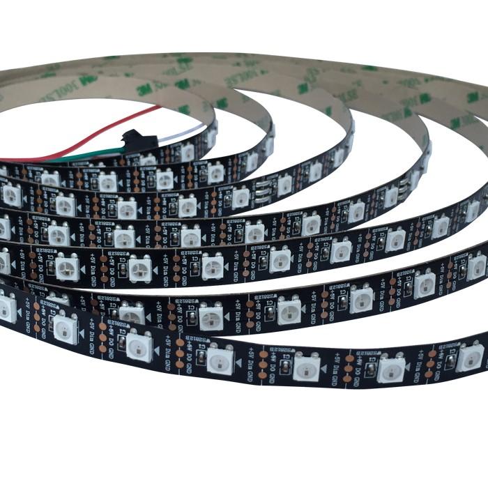Addressable Smd 5050 Ws2812b Ic Digital Led Strips 60 Leds