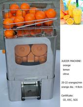 أفضل جودة آلة البرتقال عصارة مع المقاوم للصدأ دلو الصلب