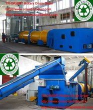 auto dryer rotary drum drier less labour cost (0086-18796202093)