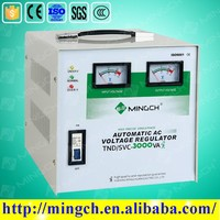 CE ROHS single phase servo motor igbt static voltage stabilizer