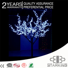 Popular led iluminado luz del árbol del led fabricante de china