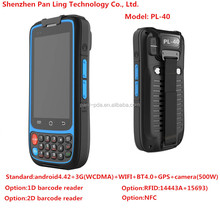 PL40 AC094 Android rugged phone 1d barcode scanner with 3g WIFI