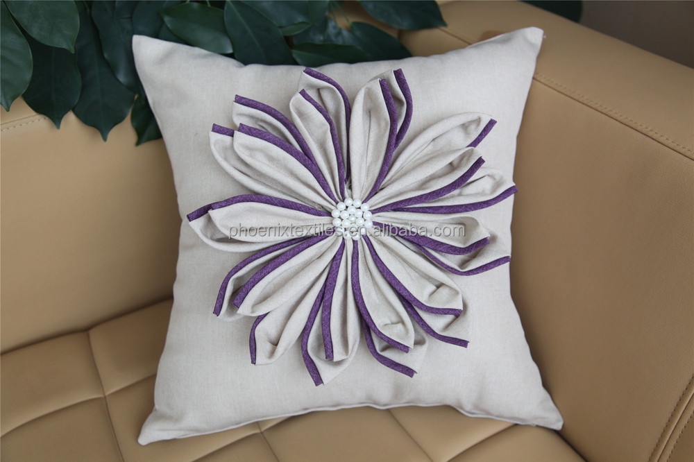 Embroidery Designs Decorative 3d Pillow Cover Buy Embroidery