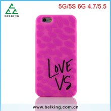 For iPhone 6 VS silicone csae / Fashion rubber case for iPhone 6 6 Plus