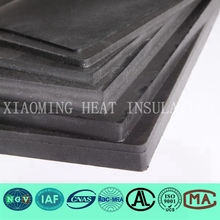 closed cell Flexible Rubber Foam Thermal Insulation Sheet Black