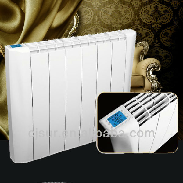 Wall Mount Heater With Thermostat : Wall mounted convector heater with digital thermostat