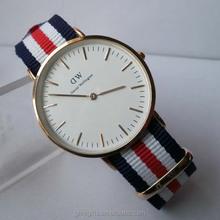 Customized Nylon Nato strap DW daniel wellington watch style