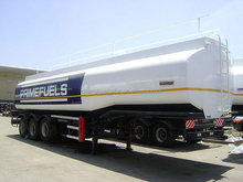 Best quality China 3 axle 50000L petroleum /fuel/gasoline tanker semi trailers tank