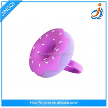 Cheap and fashion High Quality eco-friendly promotion custom design finger silicone ring