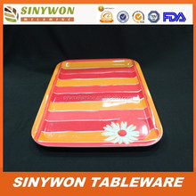 2015 Good Grade Cheap Melamine Plastic Tray Wholesale