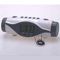 Radio Controlled Clock Snooze, Bathroom Clock Radio, Retro Alarm Clock Radio