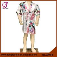 2301 Silk Satin Children Bath robes Cheap Bathrobes For Kids