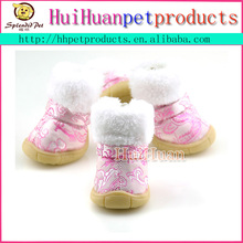 Stylish outdoor small dog shoes for teddy poodle shoes