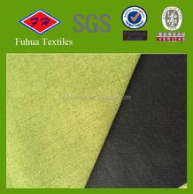Catanic Linen like fabric bonded polar fleece