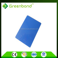 Greenbond hot sale brush finished aluminum composite panel with pvdf coating