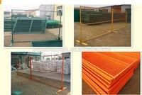 Hot sale welded temporary construction fence/galvanized temporary fence
