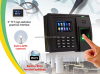 time and attendance system with fingerprint reader, spanish/Arabic/French language(5000T-C)