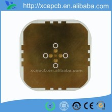 Custom super thick microwave raido transmission circuit board with ROGERS antenna grade laminate