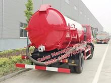 Big desconto esgoto séptica vácuo caminhões 8000 litros de sucção de esgoto veículo Hot vendas