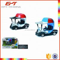 Cute plastic golf toys car for kids mini rc car for sale