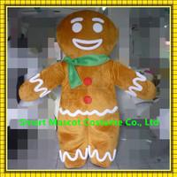Christmas theme mascot costume gingerbread costume adult gingerbread man costume