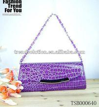 2013 Fashion PU Chain Shoulder Women's Croco Handbags
