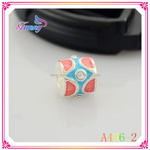 A496-2 Special Design Round Hole Beads Enamel Beads