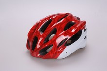 c , PC in-mold bike helmet for adult(16 air vents ) ,safety helmet with visor