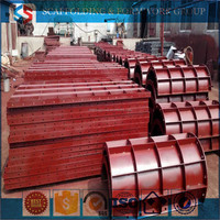 Tianjin SS Group Supplier Concrete Circular Formwork System, Circular Forms,Round Circular column formwork