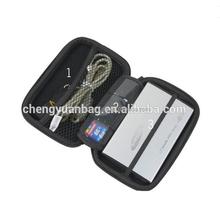 Wholesale & Retail Hard EVA Bag Hard Disk/Card Holder/USB Drive Shuttle/Memory card/Portable Hard disk purple Bag