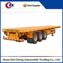 40ft container chasis flatbed container trailer