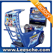 2015 coin operated ticket arcade simulator games horse racing game machine 42 inch motorcycle simulator game for sale