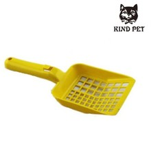 Plastic poop scoop for dogs and cats