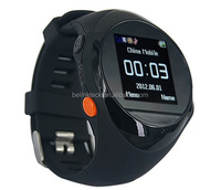 Top quality smart gps adult watch tracker with free track app and free web software tracking platform