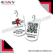 Factory Audit Custom Pet Tags / Dog ID Tags QR code