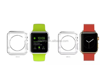 For Apple Watch Clear Slim TPU Cover