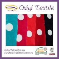 Knitted elastic fleece/flannel velvet for jersey