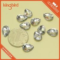 2015 Manufacturer large crystal Flat Cut Diamond