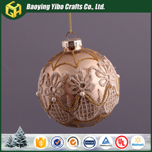 New design decoration sale 100 wholesale clear glass christmas ball ornaments