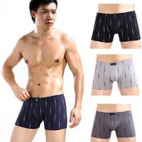 brand New sexy men's cotton printing shorts underwear wholesale