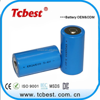 Protected rechargeable Li-ion 3.6v lithium ion battery