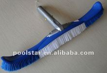 Flexible Extra Bristle Brush w/ Alu Handle P1404, Swimming Pool Floor Brush