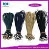 Round elastic hair band with metallic balls for foods hanging