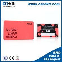 Popular best-selling offset printing colorful pvc plastic virtual credit cards