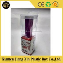 Mobile phone battery plastic pvc box
