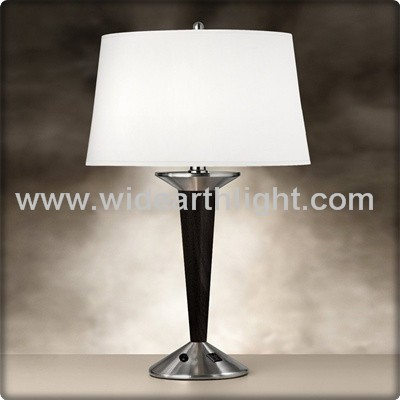 outlet nightstand table lamp table lamp with outlet product on alibaba. Black Bedroom Furniture Sets. Home Design Ideas