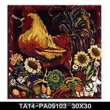 Artist Canvas Animal Of Cock Canvas Painting